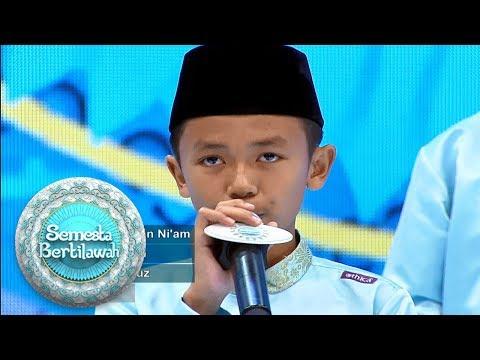 Zidan, Selain Jago Tilawah Ternyata Jago Beat Box Juga Loh - Semesta Bertilawah (20/5)