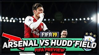 CAN WE GO 21 UNBEATEN??? | Frank vs FIFA 19 | Arsenal vs Huddersfield