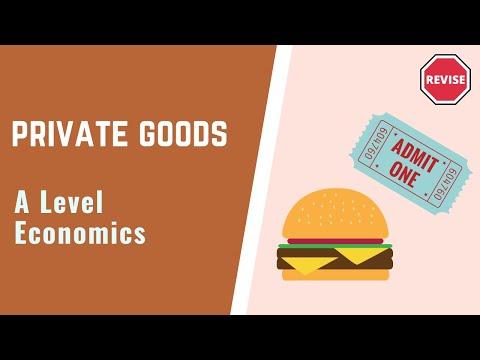 As Economics - Private Goods