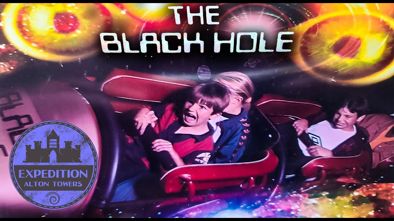 The UK's Space Mountain: The Closed History of Alton Towers Black Hole - Making Way for The Smiler