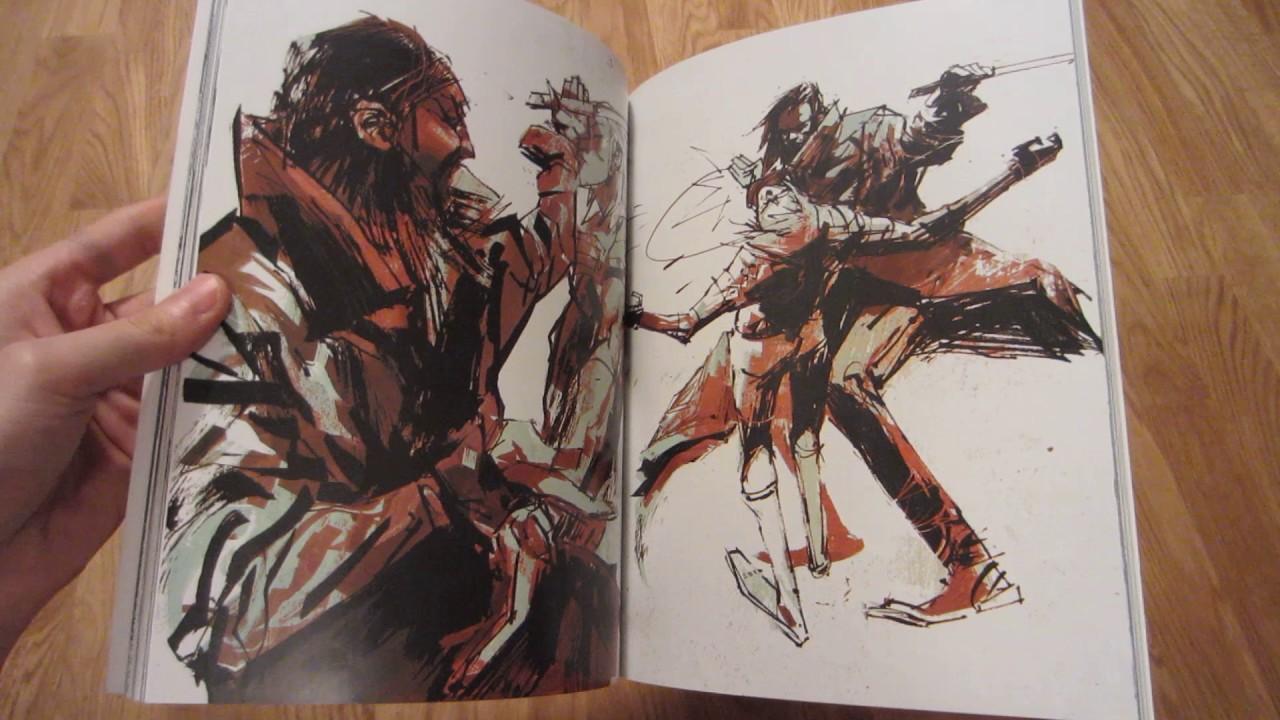 "Metal Gear Solid Artwork: Ashley Wood: 2011: ""Art Of Metal Gear Solid"" (art Book"