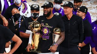 LeBron James Wins 4th NBA Championship! 2020 NBA Finals
