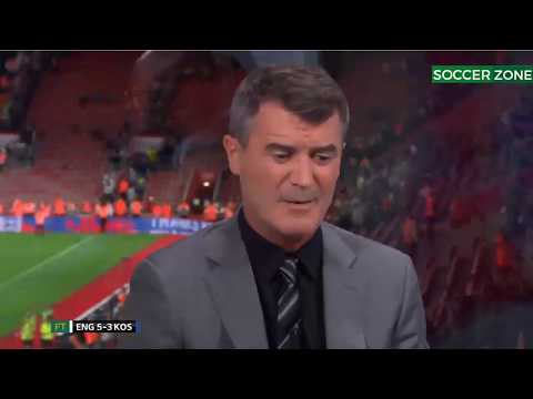 England vs Kosovo 5 -3 - Post Match Analysis with Roy Keane & Ian Wright