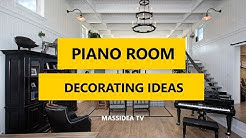 35+ Best Grand Piano Room Decorating Ideas 2017