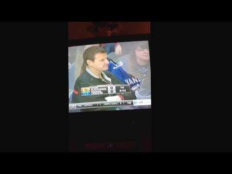 Mike Gapski 2,000th game with Chicago Blackhawks