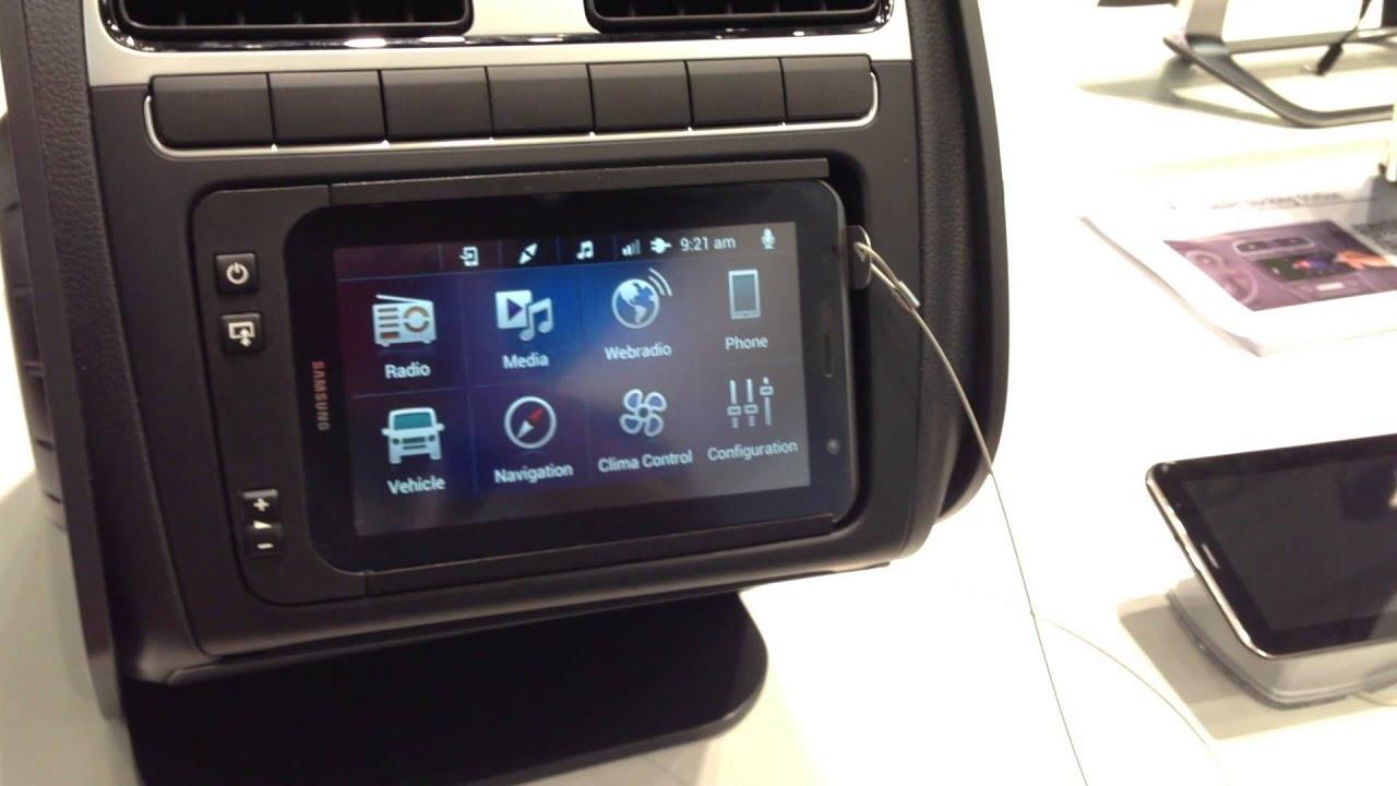 Paragon cDTS Car Dock for Samsung 7\
