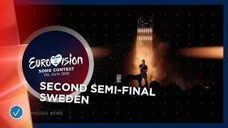 John Lundvik - Too Late For Love - Sweden - LIVE - Second Se...