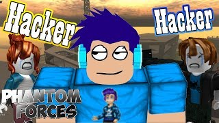 They Thought I Was HACKING! | Montage | Roblox Phantom Forces