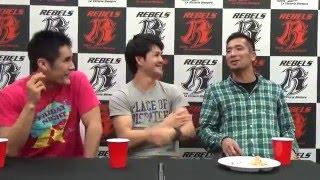 REBELS-TV_20160414 DJスネークが負け続けの2人に説教…?(前編)