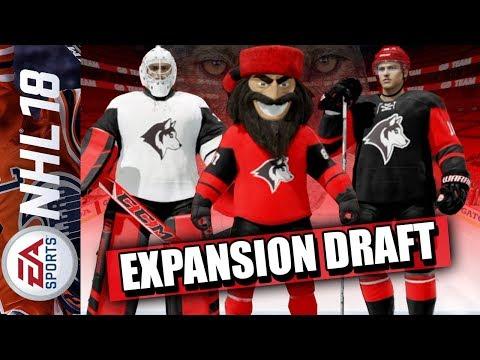 Expansion Draft der Seattle Wolves | NHL 18 Franchise-Modus #001