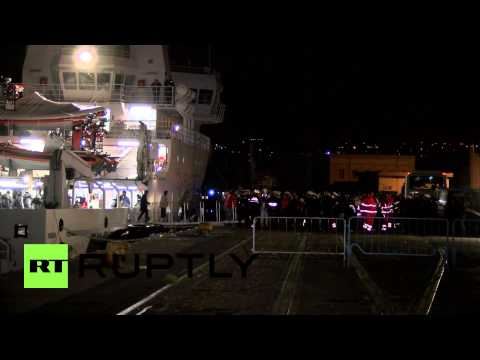 Italy: Captain of capsized migrant ship arrested in Sicily