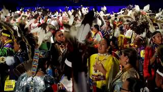 GATHERING OF NATIONS POW WOW 2019   Day 2  :  Intertribal dance All Dancers