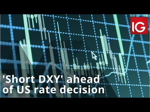 'Short DXY' ahead of the US rate decision