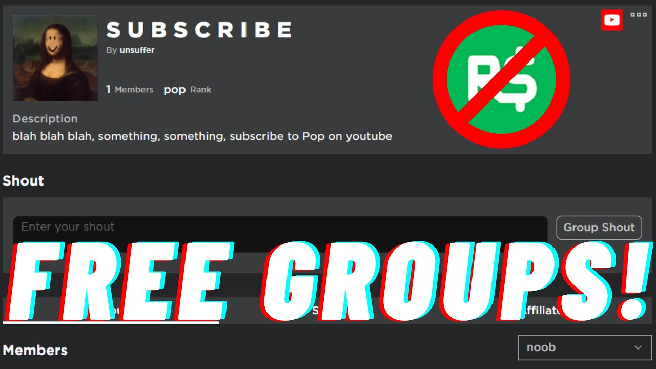 How to Make Roblox Groups For Free in 2020!