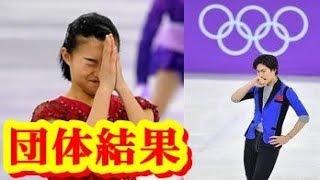 平昌五輪 フィギュアスケート団体 日本は2大会連続 団体5位に・・・ ガブリエラ・パパダキス 検索動画 22