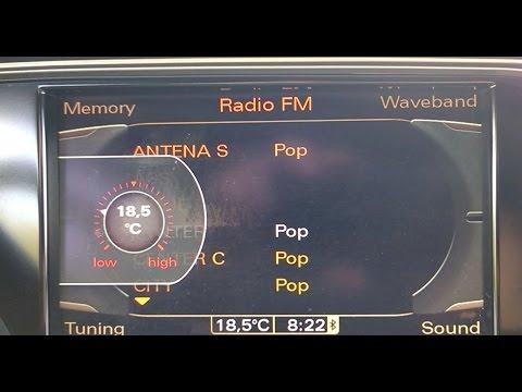 Audi A4 B8 Climate Control Menu Time Adaptation Prilagoditev