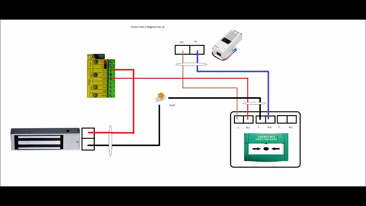 hight resolution of paxton wiring youtube mix wiring diagram for maglock 12