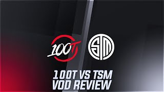 100T vs TSM - 100T throwing another game where they should have won - Week 7 LCS [ Vod Review ]