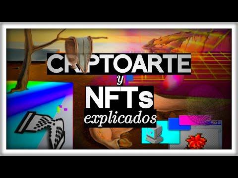 Estoy Subastando este Vídeo   El CRIPTOARTE y los NFTs EXPLICADOS