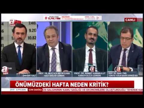 KORONAVİRÜS GÖLGESİNDE KALP SAĞLIĞI HAFTASI - PROF DR AHMET KARABULUT
