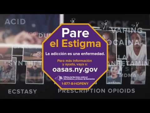 Faces of Addiction/Faces of Hope - Help is available (Spanish Language)