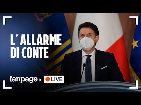 """Covid, Conte: """"In arrivo impennata di contagi"""". Le ultime notizie sulla pandemia in diretta"""