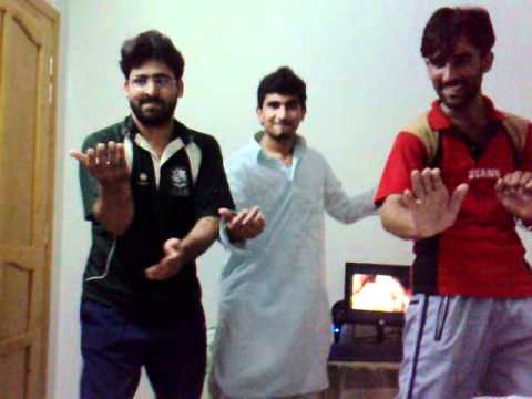 Pathan dancing on mama dy