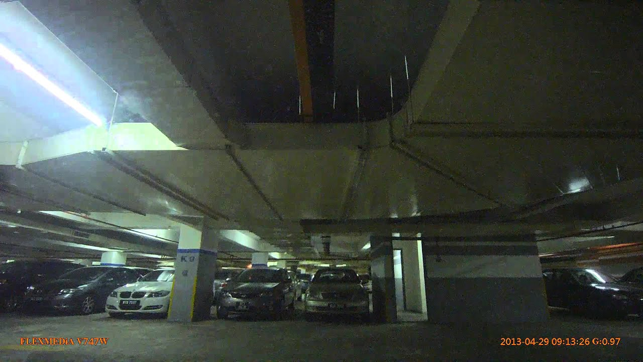 Flexmedia V747w Daytime Driving With Lights Parking