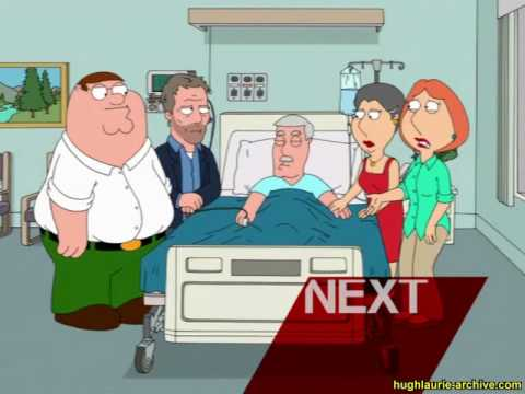 Family Guy Promo- Hugh Laurie Guest Stars (13/12/2009)