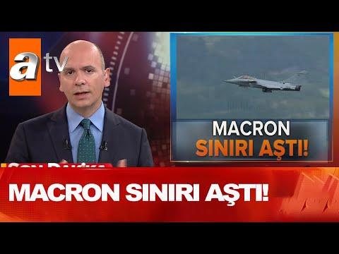 Son dakika  Macron sınırı aştı! - Atv Haber 7 Eylül 2020