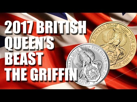 2017 Queen's Beasts The Griffin - Gold and Silver Great Britain Bullion Coin