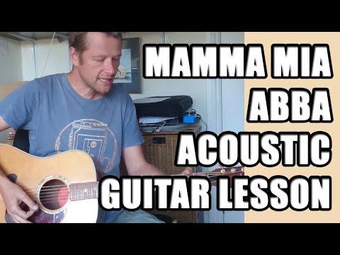 ABBA - Mamma Mia Guitar Lesson