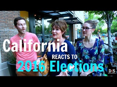 California Reacts To 2016 Elections
