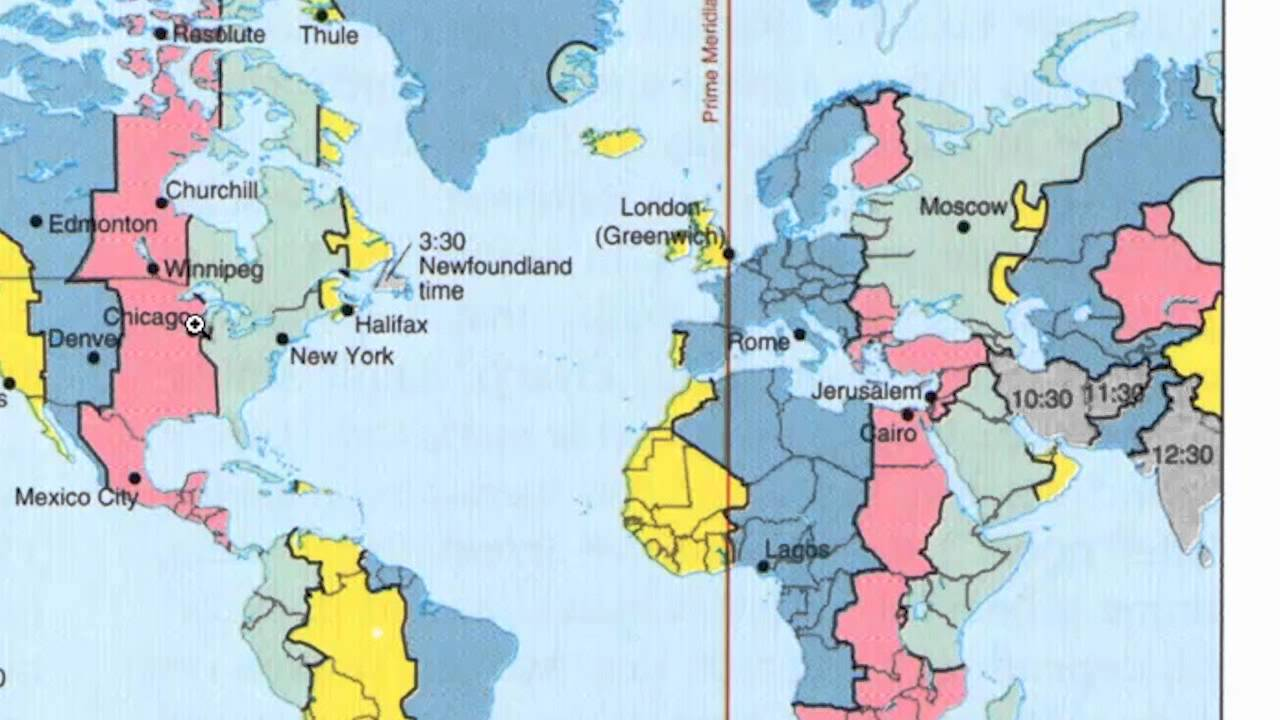 Time Zones Travel USA INDIA YouTube - Time zones usa