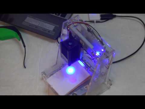 Дешевая лазерная гравировальная машина из Banggoood