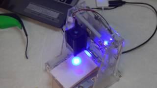 видео лазерная гравировка