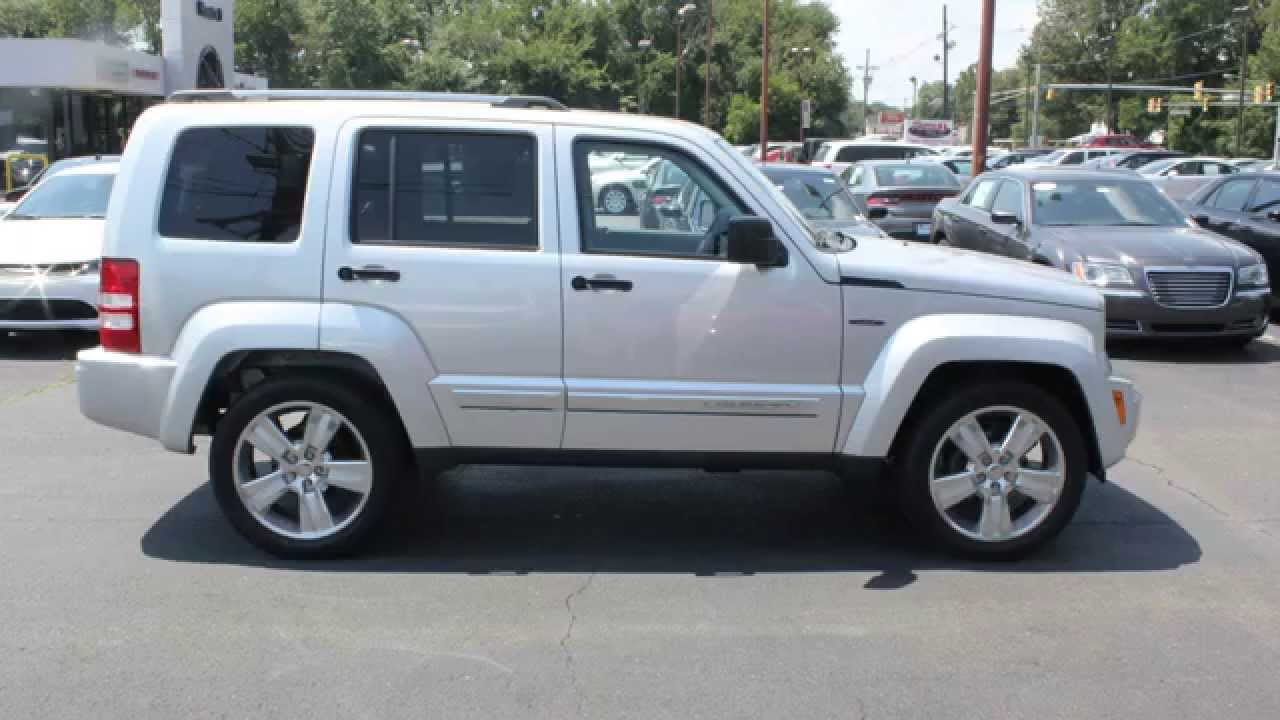 Pre Owned: 2012 Jeep Liberty Limited Jet Edition 4x4 SUV Bright Silver