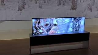 LG Signature OLED TV R at CES 2019