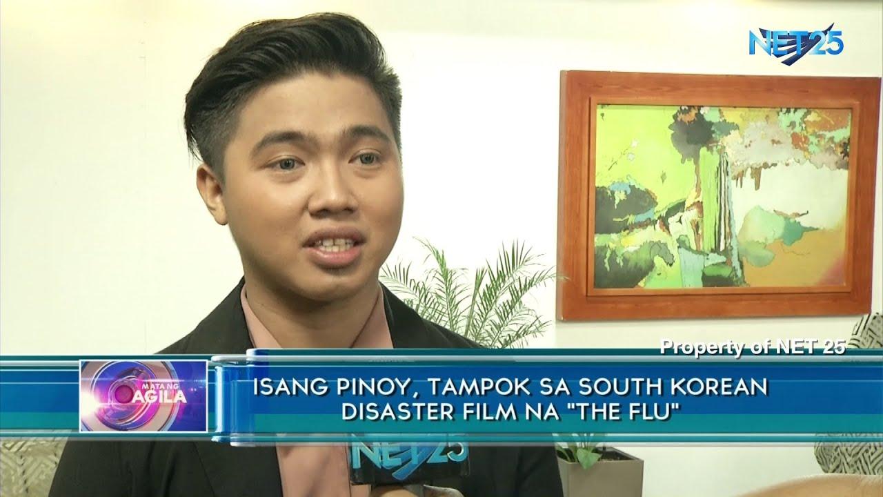 Isang Pinoy Tampok Sa South Korean Disaster Film Na The Flu Youtube