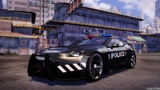 Sleeping Dogs Police Protection Pack car and outfit