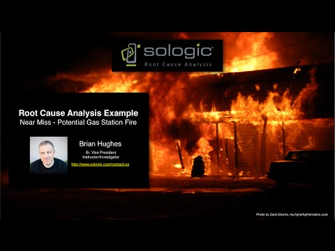 Root Cause Analysis Example - Near Miss, Potential Fire and Explosion