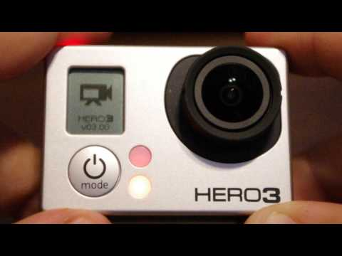 GoPro Hero 3 Black turns on and off forever