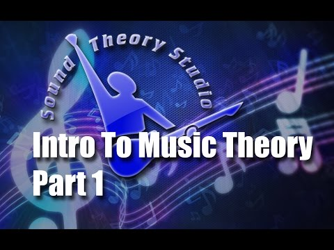 Intro To Music Theory - Part 1