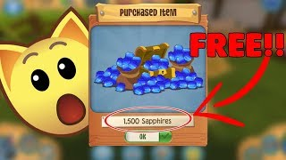 Animal Jam Play Wild: How I got 1,000 FREE SAPPHIRES in 1 Day