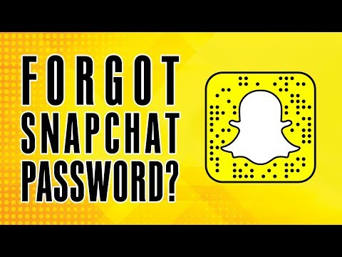 Snapchat Login: Forgot Snapchat Password 2018 | Reset Snapchat App Password | Snapchat App