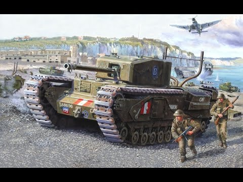 Обзор танка Churchill I от Enkelte - WoT Blitz Android и iOS