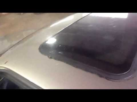 5 How to repair a leaky sunroof by Auto Accents 440-888-8886 Episode 5