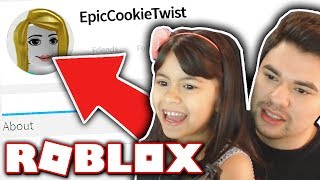 MAKING MY LITTLE SISTER A ROBLOX ACCOUNT!!
