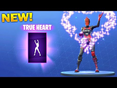 *NEW* TRUE HEART EMOTE! - Fortnite Battle Royale Item Shop July 7!