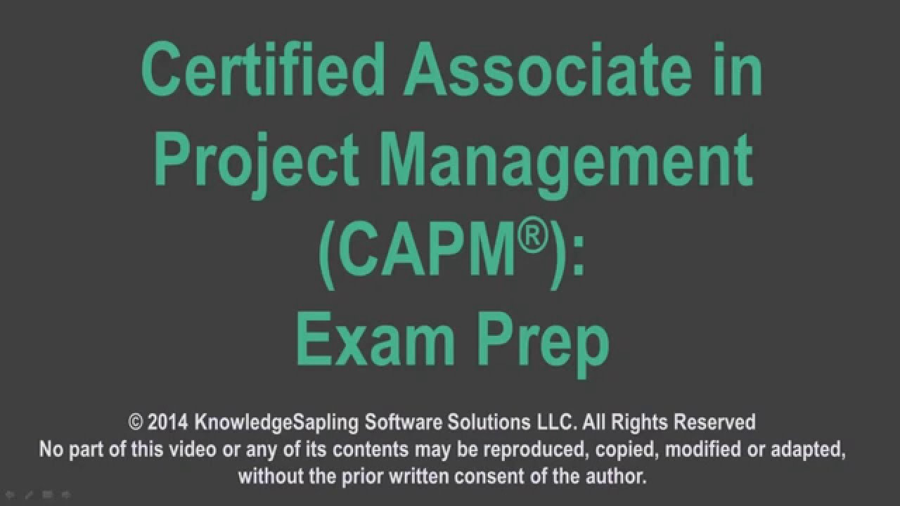 Capm exam application requirements youtube capm exam application requirements 1betcityfo Images